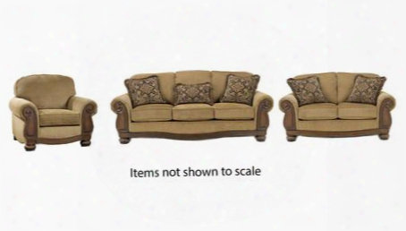 Lynnwood Collection 68500slc 3-piece Living Room Set With Sofa Loveseat And Living Room Chair In