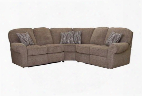 Megan Collection 343-21-04-22/2015-83/2021-87 3-piece Sectional Sofa With Left Arm Facing 1-arm Loveseat With Recliner Wedge And Right Arm Facing 1-arm