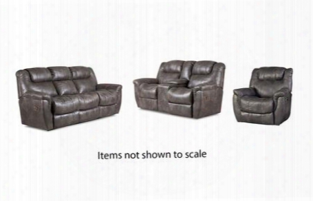 Montgomery Collection 216430314slr 3-piece Living Room Set With Sofa Loveseat And Rrecliner In Padre