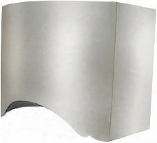 "Poly-60-ss 60"" Polygon Wall Hoods With Commercial Style Stainless Steel Baffle Filters 3 Speeds High Heat Sensor Stainless Steel Internal Liner And Double"