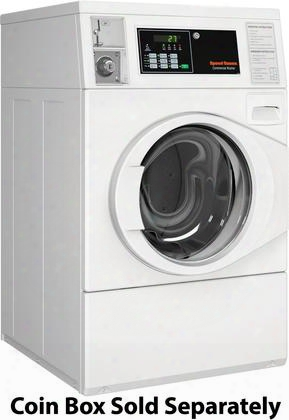 "Sfnncasp113tw01 27"" Energy Star Certified Front Load Washer With 3.42 Cu. Ft. Capacity Low Water Usage High Speed Extract Stainless Steel Wash Tub And 3"