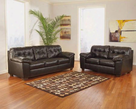 Alliston Collection 20101sl 2-piece Living Room Set With Sofa And Loveseat In