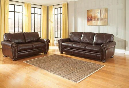Banner Collection 50404sl 2-piece Living Room Set With Sofa And Loveseat In