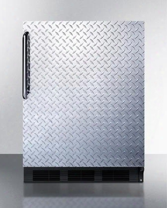 "Bi541bdpl 24"" Undercounter Refrigerator With 5.1 Cu. Ft. Capacity 2 Glass Shelves Cycle Defrost Adjustable Thermostat And Interior Lighting: Diamond"