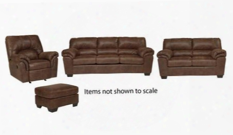 Bladen Collection 12000slro 4-piece Living Room Set With Sofa Loveseat Recliner And Ottoman In
