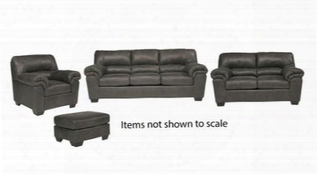 Bladen Collection 12001slco 4-piece Living Room Set With Sofa Loveseat Living Room Chair And Ottoman In