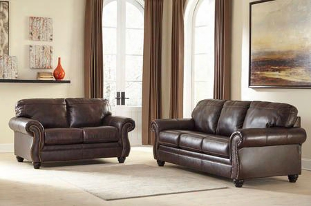 Bristan Collection 82202sl 2-piece Living Apartment Set With Sofa And Loveseat In