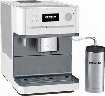 """Cm6310wh 10"""" Whole Bean Coffee System With Direct Sensor Control Panel One Touch For Two Preparation Integrated Cup Warmer Dual Dispensing Spouts Automatic"""