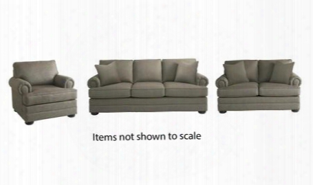 Hyde Park Collection 3913fcfc1618slc 3-piece Living Room Set With Sofa Loveseat And Lving Room Chair In