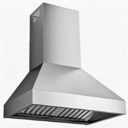 "Is36livorno 36"" Livorno Series Range Hood Offer 940 Cfm 4-speed Electronic Controls Led Lighting Delayed Shut-off Filter Cleaning Reminder And In"