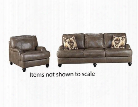 Kannerdy Collection 80402sc 2-piece Living Room Set With Sofa And Living Room Chair In