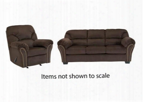 Kinlock Collection 33401sr 2-piece Living Room Set With Sofa And Recliner In