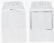"2 Piece Laundry Pair With HTW240ASKWS 27"" Top Load Washer and HTX24EASKWS 27"" Electric Dryer In"