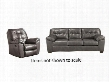 Alliston Collection 20102SR 2-Piece Living Room Set with Sofa and Recliner in