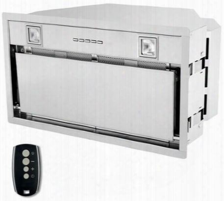 """Wl32insert 32"""" Insert-liner Series Range Hood Offers 940cfm 4-speed Electronic Controls Delayed Shut-off Filter Leaning Reminder And In Stainless"""