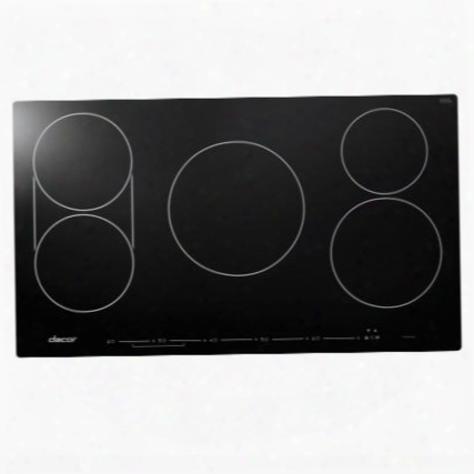 """Dytt365nb 36"""" Discover Series Touchtop Induction Cooktop With 5 Elements Sensetech Induction Technology Hot Zone Warning Power Boost And Child Lock:"""