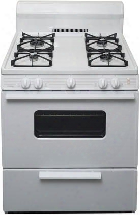 "Smk290op 30"" Freestanding Gas Range With 4 Sealed Burners Porcelain Coated Steel Grates 2 Oven Racks And Electronic Ignition In"