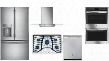 "5 Piece Kitchen Package with PGP953SETSS Gas Sealed Cooktop PFE28KSKSS36"" French Door Refrigerator PDT845SSJSS24"" Built Dishwasher PT7550SFSS Electric"