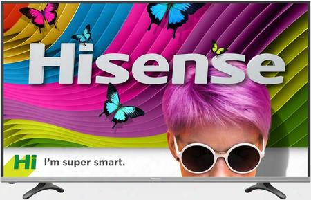 "55h8c 55"" H8 Series Smart Dled Tv With 4k Resolution/uhd Upscaling 4 Hdmi Port 3 Usb Ports Built-in Wireless Connectivity Airbridge And"
