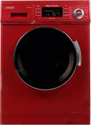 "Ez4400cvmerlot 24"" Washer/dryer Combo With 1.57 Cu. Ft. Convertible Venting Or Condensing Dry Self Entire Option And Sensor Dry In"