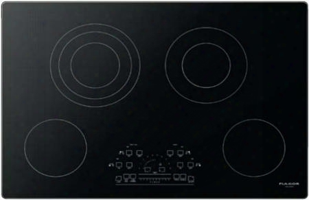 """F6rt30s2 30"""" 600 Series Electric Cooktop With 4 Radiant Elements Peacock Tail Touch Control Fast Boil Function Hot Surface Indicator And Command Lock In"""