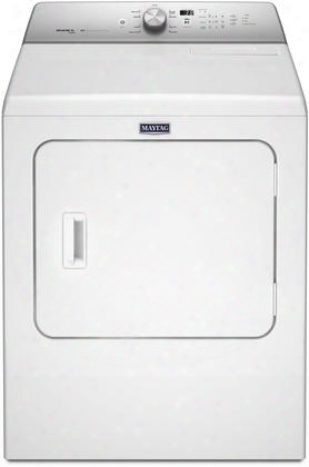 "Mgdb766fw 29"" Front Load Gas Dryer With 7 Cu. Ft. Capacity 9 Dry Cycles Advanced Moisture Sensing And Lint Filter Indicator In"