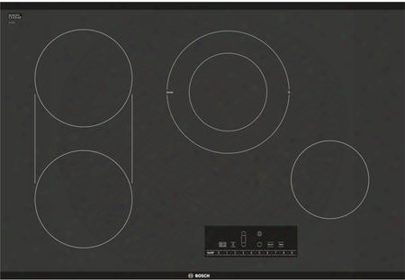 "Net8068uc 30"" Electric Cooktop With 17 Different Cooking Level Settings 4 Elements And Heat Indicator"