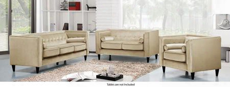 Taylor Collection 717698 3 Piece Living Room Set With Sofa + Loveseat And Chair In
