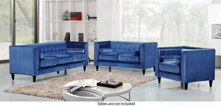 Taylor Collection 717705 3 Piece Living Room Set With Sofa + Loveseat And Chair In Light