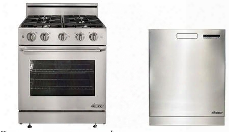 "30"" Distinctive Series Gas Freestanding Range With 4 Burners And 24"" Dist Inctive Series Built In Fully Integrated"