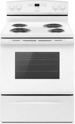 "Acr2303mf 30"" Electric Oven With Capacity Of 4.8 Cu. Ft. That Offers Large Oven Capaci Ty Versatile Cooktop And A Storage Drawer In"