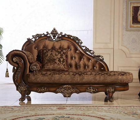 "Napoli 692-ch 81"" Chaise With Imported Fabrics Upholstery Solid Wood Hand Crafted Designs Crystal Tufting And Removable Backs In"