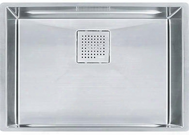 "Pkx11025 Peak Series 26"" Undermount Single Bowl Sink In Stainless"