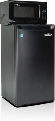 3.3sm4-7a1 Snackmate Series 3.3 Cu. Ft. Freestanding Compact Refrigerator With 700 Watt Microwave Led Timer/clock Canstor Beverage Dispenser And 1 Full And