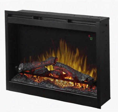 "Dfr2651lx 26"" Plug-in Electric Firebox With Logs On-screen Display Safe Ceramic Heat Color Themes And Multi-function"