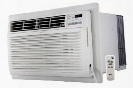 """Lt1036hnr 25"""" Through The Wall Appearance Conditioner With Heating 10000 Btu Cooling Capacity 11200 Btu Heating Capacity 4 Way Air Direction Gold Fin Anti"""