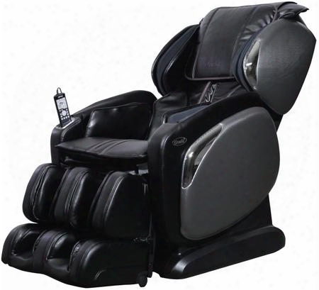 Os-4000ls-blk Massage Chair With 6 Auto Massage Programs Heat On Lumbar Zero Gravity Position In