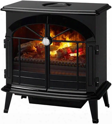 """Os2527gb Stockbridge 62"""" Opti-myst Electric Stove Complete With Dfi400lh Opti-myst Cassette Logs Built-in Heater With Thermostat Supplemental Heat And Easy"""