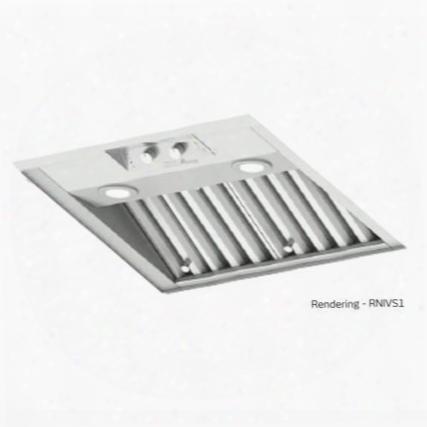 "Rnivs2 30"" Renaissance Series Integraetd Ventilation System With 1200 Cfm Internal Blower Led Lighting Removable Baffle Filters Variable Blower Controls"