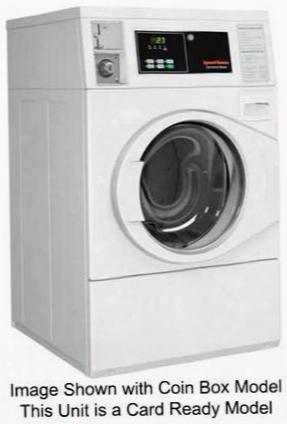 "Sfnbyasp113tw01 27"" Energy Star Ada Compliant Commercial Front Load Washer With 3.42 Cu. Ft. Capacity Micro Display Controls Stainless Steel Washtub And"