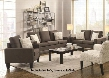 Bachman 504764SLC 3 PC Living Room Set with Sofa + Loveseat + Chair in Grey