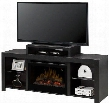 "Beasley GDS25G51441KN 62.5"" Media Console Complete with DFR2551G 25"" Glass Ember Bed Firebox Three-stage Remote and Supplemental Heat in a Kingston"