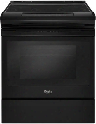 Wee510s0fb Electric Range With 4.8 Cu. Ft. Oven Capacity In