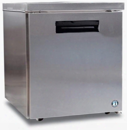 "Crmf27-lp 27"" Commercial Series Low Profile Undercounter Freezer With 7.2 Cu. Ft. Capacity Stainless Steel Exterior Ada Compliant And 1 Adjustable Shelf In"