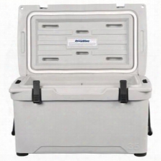 Eng80-g 2.7 Cu. Ft. Deepblue Roto-molded High-performance Cooler With Built-in Handles Stainelss Steel Inserts Unity Latch System And Cornerstone Feet In