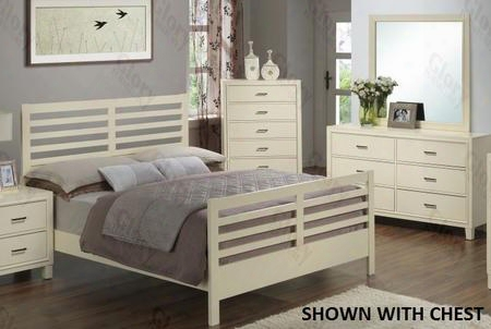 G1290ctb2dm 3 Piece Set Including Twin Size Bed Dresser And Mirror In