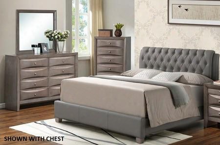 G1505ctbupdm 3 Piece Set Including Twin Size Bed Dresser And Mirror In