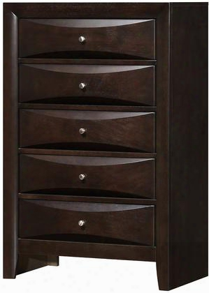 """G1525ch 48"""" Chest With Wood Veneers Dovetailed Drawer Simple Pools In"""