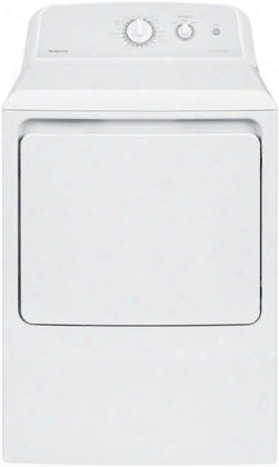 "Htx24gaskws 27"" Front Load Gas Dryer With 6.2 Cu. Ft. Capacity 4 Cycles Auto Dry Delicate Cycle Upfront Lint Filter And End-of-cycle Signal:"