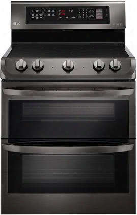 Lde4413bd 30&qot; Freestanding Electric Double Oven With 7.3 Cu. Ft. Total Oven Capacity 5 Elements Probake Convection Easyclean Self Clean And Glass Touch